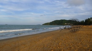 Plage de Montabo (Cayenne - Guyane)