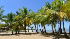 Plage de Kourou en Guyane