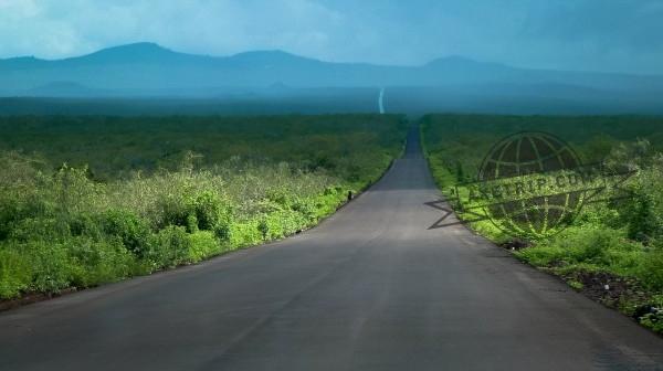 Routes et Paysage des Galapagos