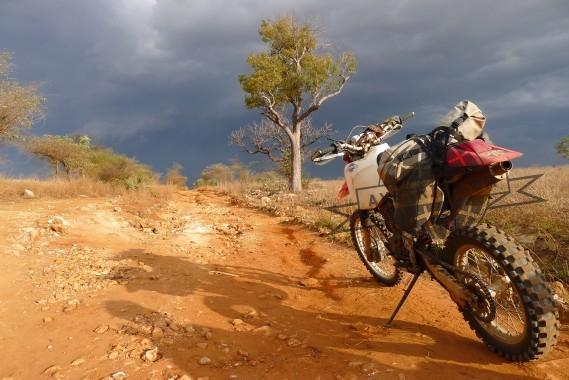 Madagascar moto tour