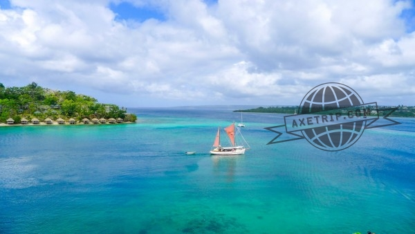 Vue Panoramique Grand-Hotel-Casino-Vanuatu-Port Vila